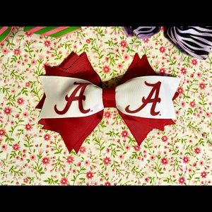 Alabama Hairbow (with 2 little bows)